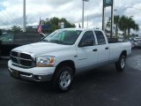 2006 Bright White Dodge Ram 1500 SLT Quad Cab 4x4 #43555996