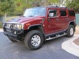 2003 Red Metallic Hummer H2 SUV #43556012
