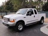 2000 Oxford White Ford F250 Super Duty Lariat Extended Cab 4x4 #43556013