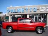 2001 Flame Red Dodge Ram 1500 ST Club Cab #43556393