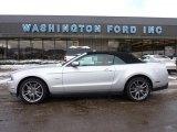 2011 Ingot Silver Metallic Ford Mustang GT Premium Convertible #43556426