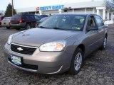 2007 Amber Bronze Metallic Chevrolet Malibu LS Sedan #43555695