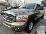 2006 Light Khaki Metallic Dodge Ram 1500 Laramie Quad Cab 4x4 #43556864