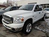 2007 Bright White Dodge Ram 1500 ST Quad Cab 4x4 #43556867