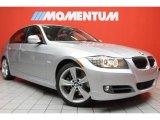 2011 Titanium Silver Metallic BMW 3 Series 335i Sedan #43556506