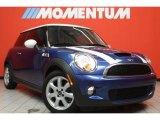 2007 Lightning Blue Metallic Mini Cooper S Hardtop #43556512