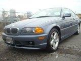 2001 Steel Blue Metallic BMW 3 Series 325i Coupe #43555773