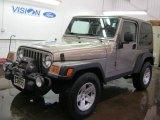 2006 Light Khaki Metallic Jeep Wrangler Rubicon 4x4 #43557046