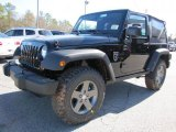 2011 Jeep Wrangler Call of Duty: Black Ops Edition 4x4 Front 3/4 View