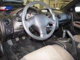 2003 Mitsubishi Eclipse Spyder GTS Sand Blast Interior