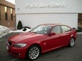 2011 Crimson Red BMW 3 Series 328i xDrive Sedan #43555840