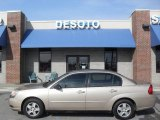 2005 Light Driftwood Metallic Chevrolet Malibu LS V6 Sedan #43556216