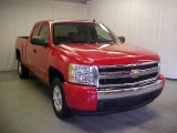 2008 Victory Red Chevrolet Silverado 1500 LT Extended Cab #43556591