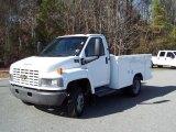 2004 Summit White Chevrolet C Series Kodiak C4500 Crew Cab Utility Dump Truck #43556654