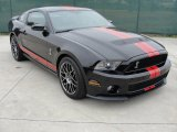 2011 Ebony Black Ford Mustang Shelby GT500 SVT Performance Package Coupe #43556265