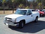 2003 Summit White Chevrolet Silverado 1500 Regular Cab #43556658