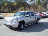 2008 Silver Birch Metallic Chevrolet Silverado 1500 LS Crew Cab #43556664