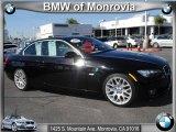 2008 Jet Black BMW 3 Series 328i Convertible #43556291