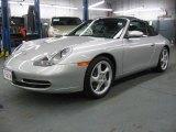 1999 Arctic Silver Metallic Porsche 911 Carrera Cabriolet #43646913