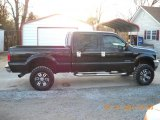 2003 Black Ford F250 Super Duty Lariat Crew Cab 4x4 #43647305