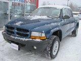 2003 Atlantic Blue Pearlcoat Dodge Dakota SXT Quad Cab 4x4 #43557175
