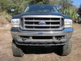 2004 Dark Green Satin Metallic Ford F250 Super Duty XL SuperCab 4x4 #43647623