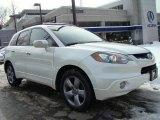 2008 White Diamond Pearl Acura RDX Technology #43647136