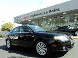 2008 Brilliant Black Audi A4 2.0T Sedan #43557224