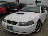 2001 Oxford White Ford Mustang GT Convertible #43557307