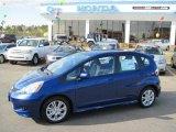 2011 Vortex Blue Pearl Honda Fit Sport #43647467