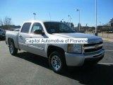 2011 Sheer Silver Metallic Chevrolet Silverado 1500 LS Crew Cab #43647781