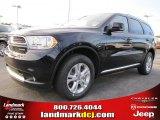 2011 Blackberry Pearl Dodge Durango Crew #43647213