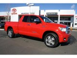 2007 Radiant Red Toyota Tundra Limited Double Cab 4x4 #43646804