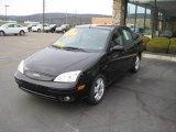 2005 Pitch Black Ford Focus ZX4 ST Sedan #4364763