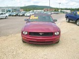 2007 Redfire Metallic Ford Mustang V6 Deluxe Convertible #4364779