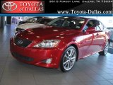 2008 Matador Red Mica Lexus IS 250 #43723883