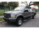 2003 Dark Shadow Grey Metallic Ford F250 Super Duty FX4 SuperCab 4x4 #43781543