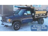 2000 Chevrolet Silverado 3500 Regular Cab 4x4 Chassis Dump Truck Data, Info and Specs