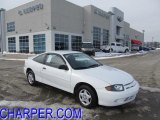 2003 Olympic White Chevrolet Cavalier Coupe #43780896