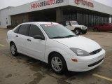2003 Cloud 9 White Ford Focus SE Sedan #43781696