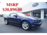 2011 Kona Blue Metallic Ford Mustang GT Coupe #43781384