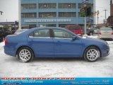 2010 Sport Blue Metallic Ford Fusion SEL V6 #43781393