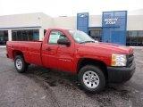 2011 Victory Red Chevrolet Silverado 1500 Regular Cab 4x4 #43781479