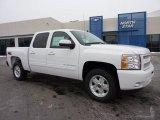 2011 Summit White Chevrolet Silverado 1500 LT Crew Cab 4x4 #43781481