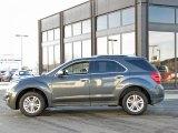 2010 Cyber Gray Metallic Chevrolet Equinox LTZ AWD #43781865