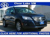 2011 Night Blue Metallic Volkswagen Tiguan SE #43782583