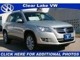 2011 White Gold Metallic Volkswagen Tiguan SE #43782585