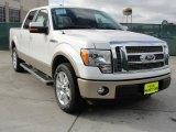 2011 White Platinum Metallic Tri-Coat Ford F150 Lariat SuperCrew #43880590