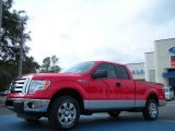 2011 Race Red Ford F150 XLT SuperCab #43880270