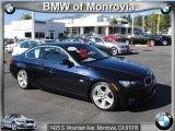 2008 Monaco Blue Metallic BMW 3 Series 335i Coupe #43880619
